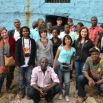 Team Global Voices team up with team Map Mathare